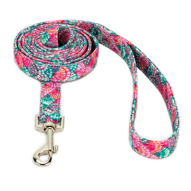 Pink Shell Dog Leash