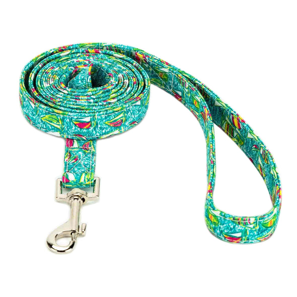 Sailboat Collar, Bracelet & Leash Combo