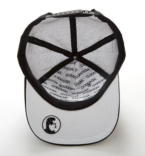 Black Iconic Pop Snap Back Hat