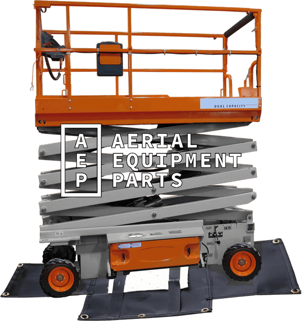 JLG 260MRT diaper belly tarp
