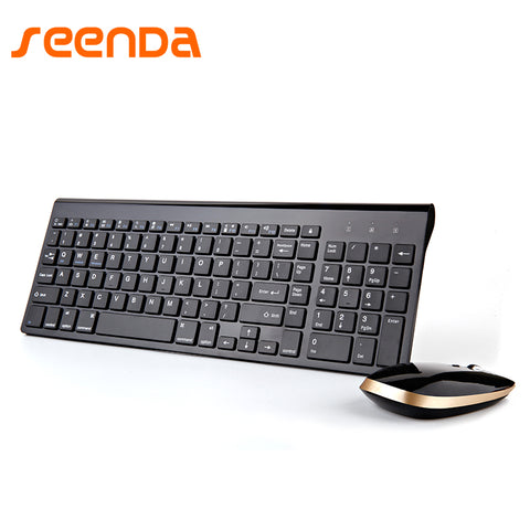 2.4G Wireless Keyboard Mouse Set Office Large Numeric Keypad Waterproof Multimedia Function Keypad  Energy Saving Comfort