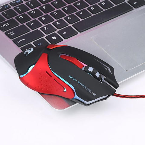 Hot 6D LED Optical USB Wired 3200 DPI Pro Gaming Mouse For Laptop PC Game