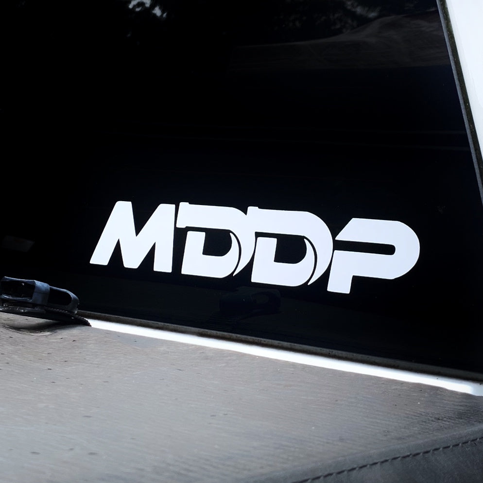 MDDP White Decal