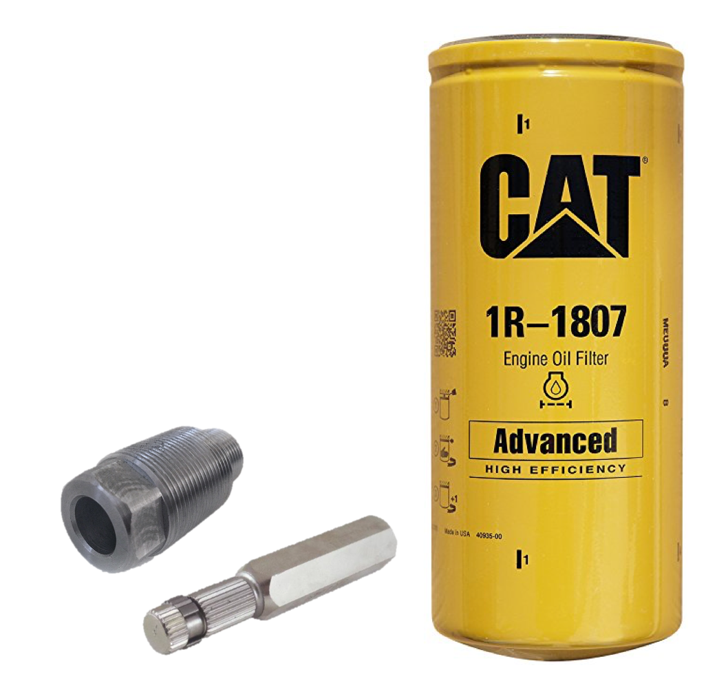 Duramax CAT Oil Filter Conversion Kit