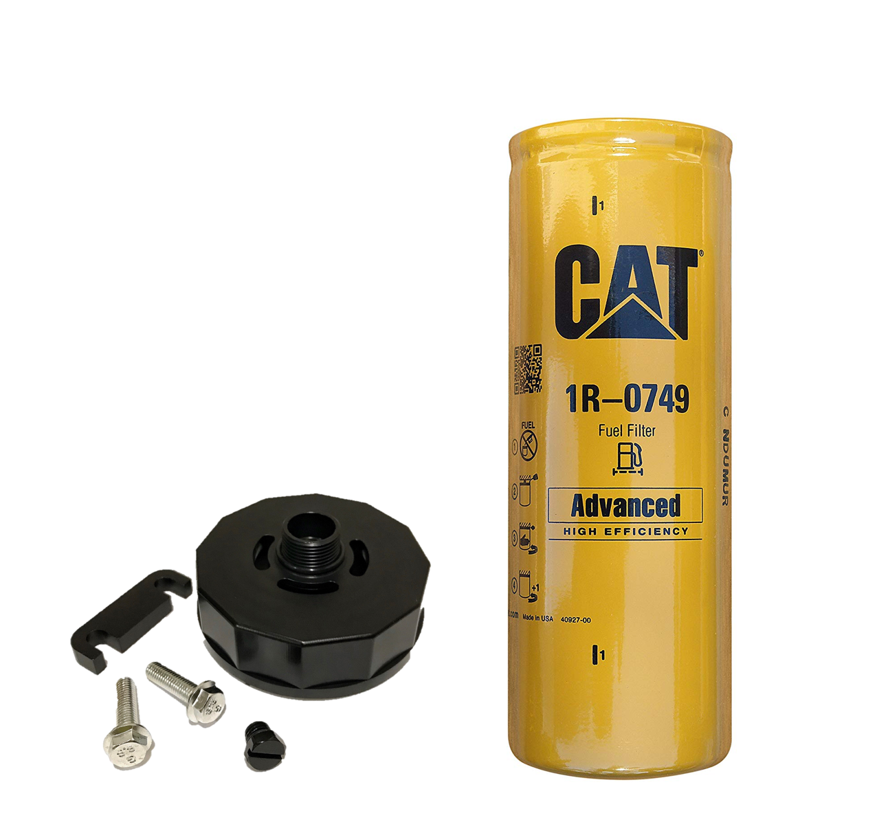 Duramax CAT Fuel Filter adapter