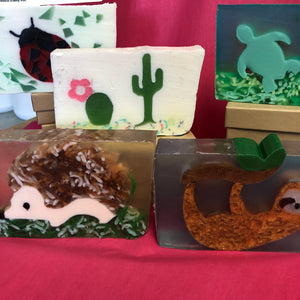 Soap collection at Desert Dancer