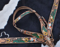 Painted Sunflower/Cactus Tack Set