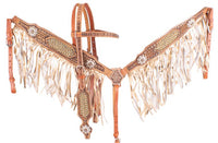 Gold and Pearl Fringe Tack Set