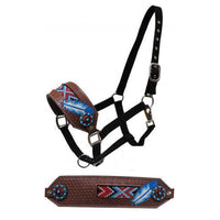 American Feather Bronc Halter