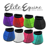Elite Equine Bell Boots (Several Colors Available)