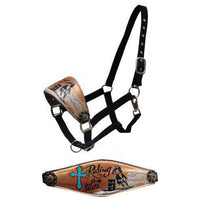 Riding on Faith Bronc Halter