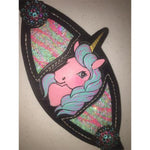 "Wild Cactus ""Cotton Candy"" Unicorn Halter"