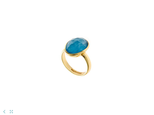 Blue Jade Ring
