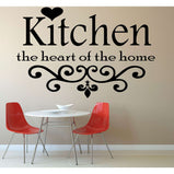 Kitchen the heart of the home:Wall Art StickerEndlessPrintsUK