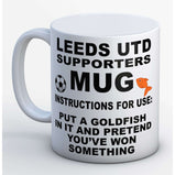 Leeds United Supporter Mug:MugEndlessPrintsUK