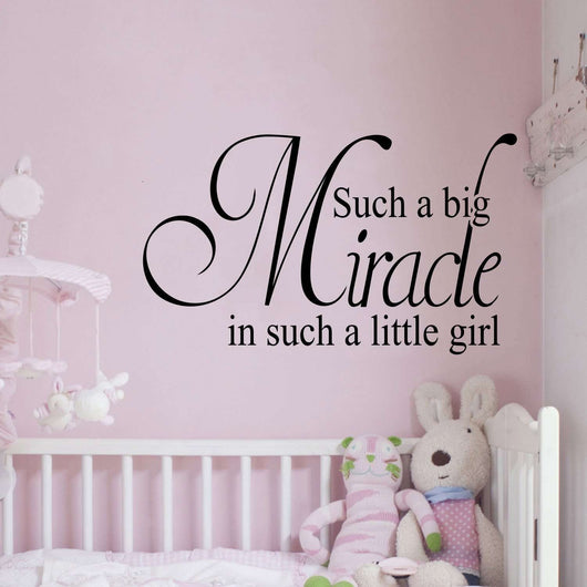 Such a big miracle in such a little girl – EndlessPrintsUK
