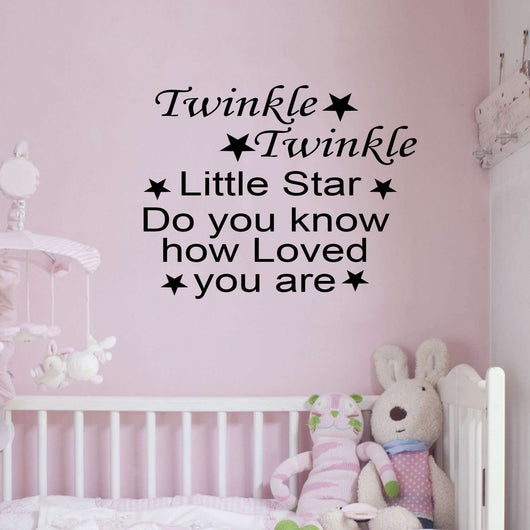 Twinkle Twinkle little star, do you know – EndlessPrintsUK
