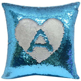 Unicorn Cushion - Sequin Reveal (Gold, Red, Pink, Blue or Black):CushionEndlessPrintsUK