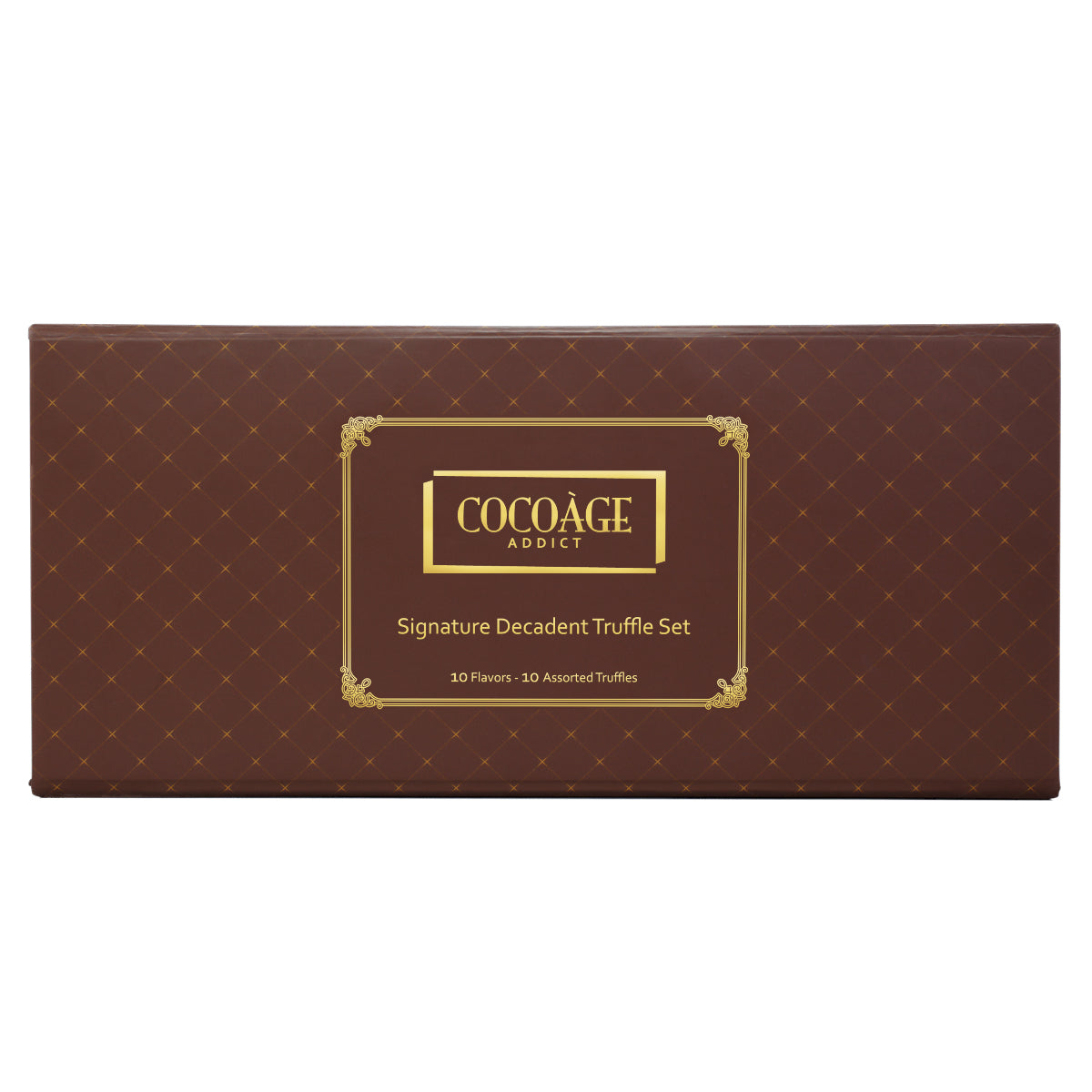 Signature Decadent Truffle Set - 10 Piece Assorted Truffles - Cocoage Addict