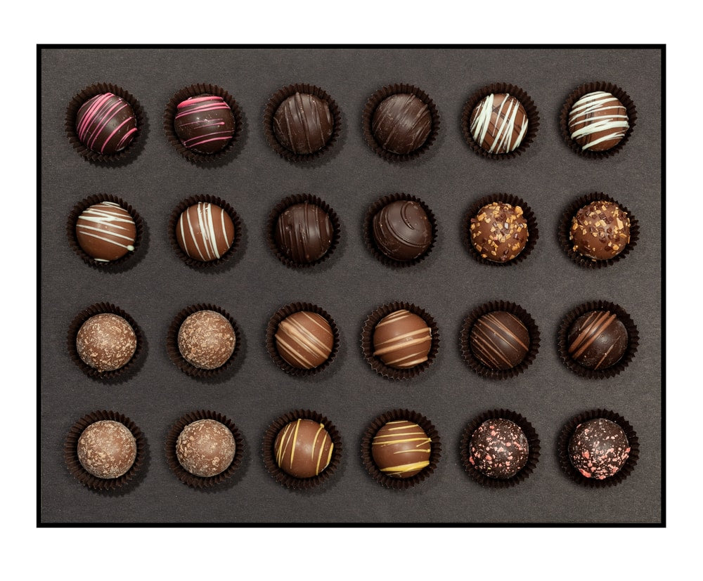 Signature Decadent Truffle Set - 24 Piece Assorted Truffles - Cocoage Addict