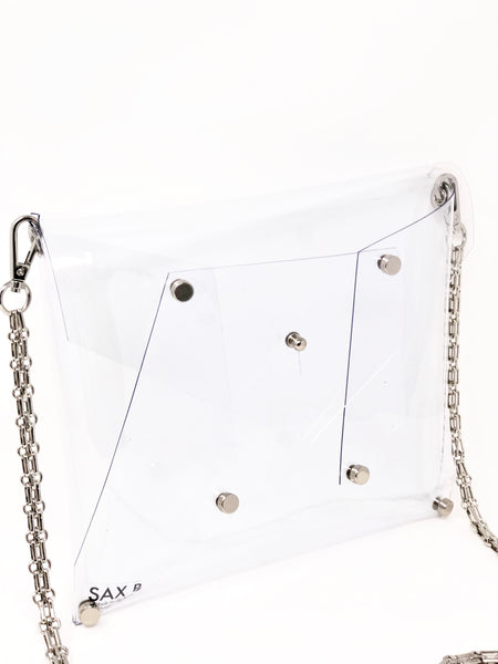 Chain Crossbody - SAX B