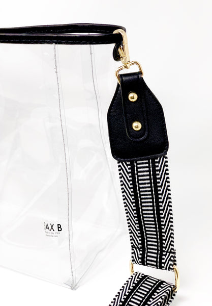 Tribal Bucket Tote - SAX B
