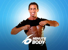 6 MINUTE BODY with DVDs