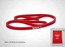 Body FX Super Band Red (15-35LB)