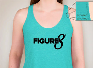Figure 8 Turquoise Tank (Figure 8 Like No One's Watching)