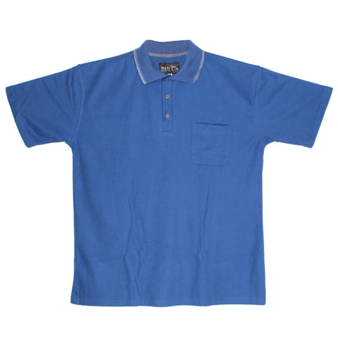 Imdromst big and tall polo hei258 azul plumbago