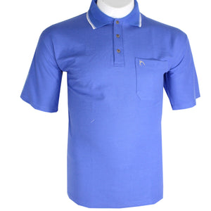 dromstore, Playera Tipo Polo Talla Extra Modelo HEI69 AZUL REY, BIG & TALL SHOP