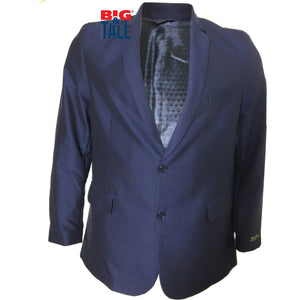 dromstore, Blazer Talla Extra Modelo HEI165 Color AZUL MARINO, BIG & TALL SHOP