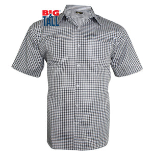 dromstore, Camisa Sport Talla Extra, Marca HEIS Modelo HEI190, GRIS OXFORD, BIG & TALL SHOP