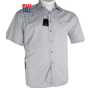 Camisa Sport Talla Extra, Mod. MON49 GRIS - DROMSTORE