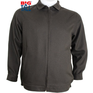 dromstore, CHAMARRA TALLA EXTRA  HEIS MODELO HEI163 CAFÉ CHOCOLATE, BIG & TALL SHOP