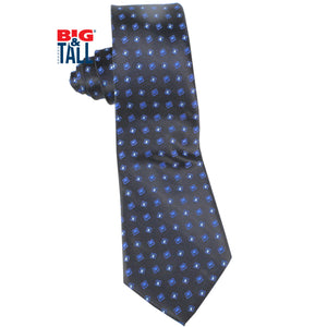 dromstore, CORBATA EXTRA LARGA MOD. HEI213 MARINO/REY, BIG & TALL SHOP