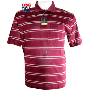 dromstore, Playera Tipo Polo MANCHESTER Talla Extra VINO Mod. MAN708, BIG & TALL SHOP