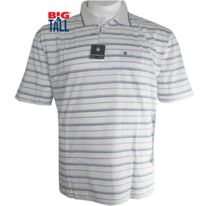 dromstore, Playera Tipo Polo MANCHESTER Talla Extra BLANCO Mod. MAN715, BIG & TALL SHOP