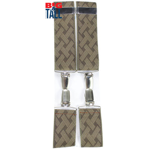 dromstore, Tirantes Talla Extra Modelo GYC9 BEIGE/CAFE, BIG & TALL SHOP