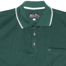 dromstore, Playera Tipo Polo BIG&TALL Talla Extra Modelo HEI258 Verde Botella, BIG & TALL SHOP