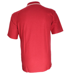 dromstore, Playera Tipo Polo Talla Extra Modelo HEI69 ROJO, BIG & TALL SHOP