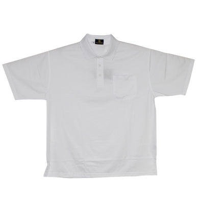 dromstore, Playera Tipo Polo BIG&TALL Talla Extra BLANCO Modelo MAN684, BIG & TALL SHOP, PLAYERA POLO TALLA EXTRA.