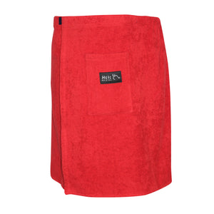 dromstore, SALIDOR DE BAÑO HEIS Tallas Extra Modelo HEI197 COLOR ROJO, BIG & TALL SHOP.