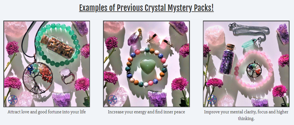 Mystery Crystal Packs