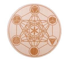 Metatron's Cube with the Platonic Solids