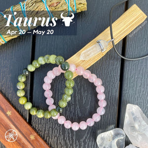 Taurus Zodiac Crystal bundle