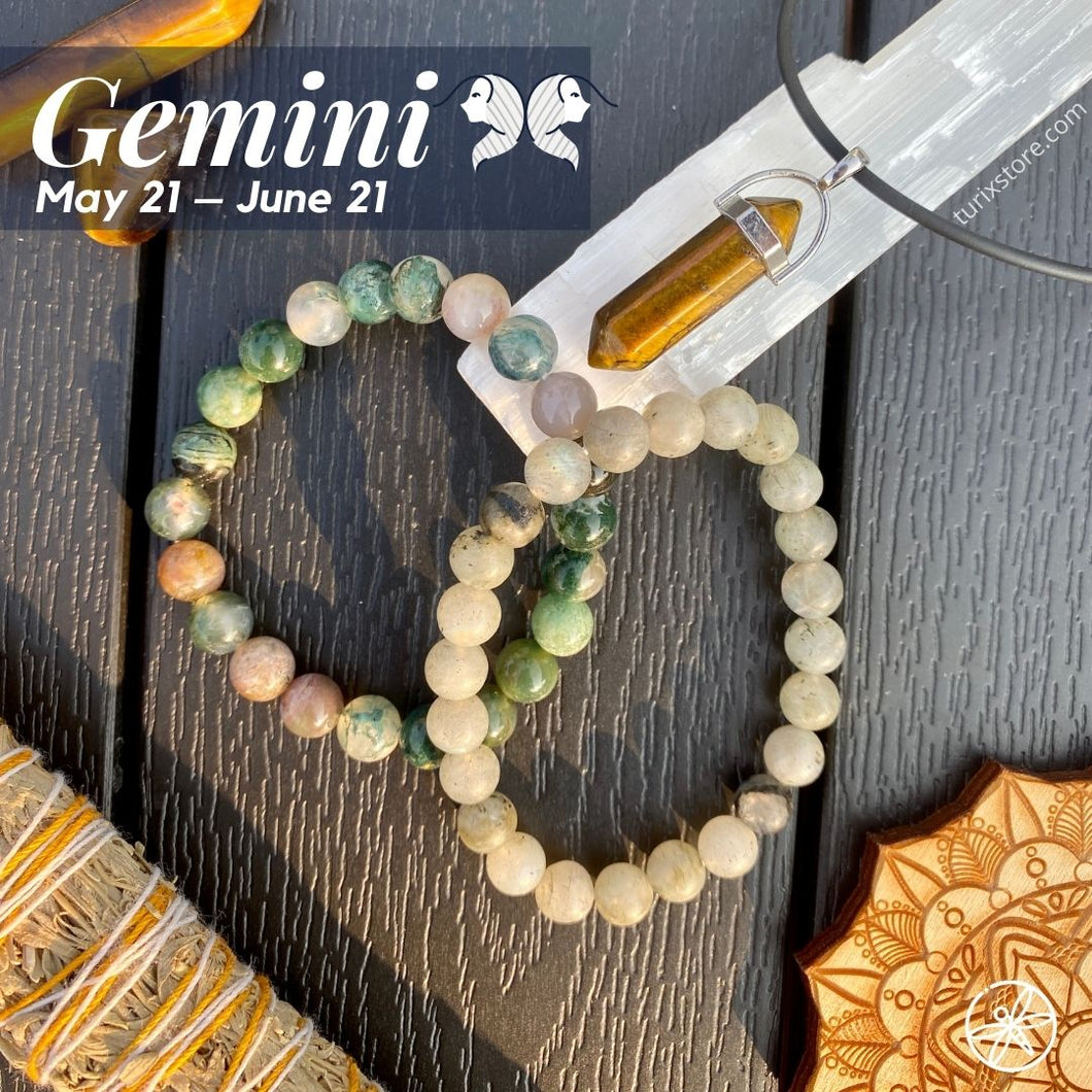 Gemini Zodiac Crystal bundle