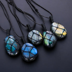 Dragon Heart Labradorite Necklace