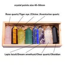 Rainbow Crystal Points Collection Vol. I  - 8 pc.