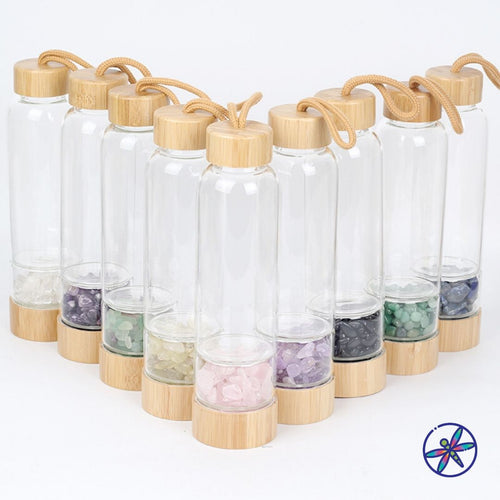 Bamboo Crystal Water Bottles